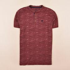 Hollister California Herren T-Shirt Shirt Classic Gr.M Vintage Rottöne 76135