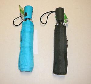 Totes Isotoner Automatic Open Umbrella L Large Coverage Mini Compact