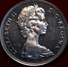 Uncirculated Proof 1967 Canada Silver One Dollar Foreign Coin