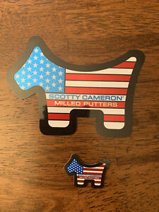 Scotty Cameron Stickers- USA- 2 Pack 2021 US Open. SOLD OUT