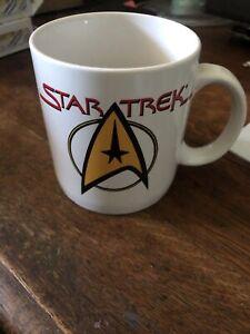 1994 VINTAGE PFALTZGRAFF STAR TREK Coffee MUG Cup - Starfleet Command Logo