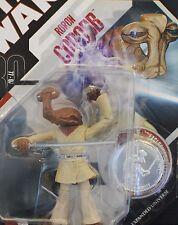 Star Wars 30th #31 Roron Corobb Jedi Ithorian Clone Wars Figure MOC w/ Coin