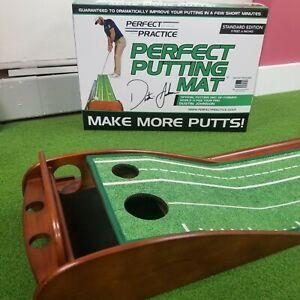 """Perfect Practice Putting Mat Standard Edition 9'6"""""""