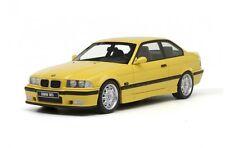 BMW M3 E36 YELLOW COUPE OTTO OT666 1:18 COLLECTORS ITEM VERY RARE MODEL SUPERB