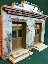 "O/On30/On3 Scale 3 Brothers Store kit by Rich White Models-Hydrocal ""Walls Only"""