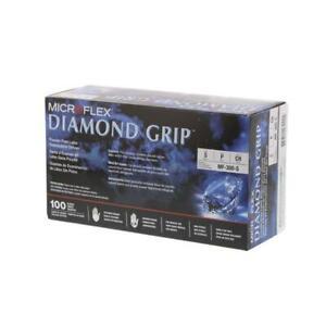 Microflex Diamond Grip Small CASE MF-300-S