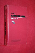 GUIDE MICHELIN ROUGE 1992