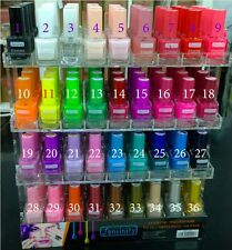 LOT de SIX vernis à ongles parfumé FRUITS tendances de l'été!exclusive sur ebay