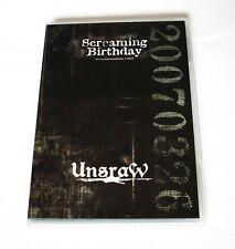 UnsraW 'Screaming Birthday'-TourDVD 2oo7 inkl. Bonus-CD JRock/Visual Kei Japan