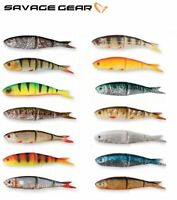 Savage Gear Soft 4Play - Loose Body Fishing Lure 8 - 19cm 4 - 60g Set Pike Bass