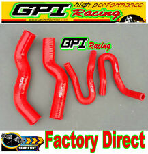 RED Silicone Radiator Heater Hose Holden Rodeo RA 3.0 Turbo Diesel 2003-2007 04