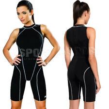 GWINNER Badeanzug Damen Schwimmanzug mit Bein einteiliger DANIELA