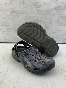 Crocs True Timber Camo Clogs Shoes Mens Size M9 W11 Camouflage Hydrographic