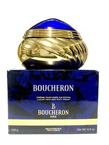BOUCHERON Luxury Perfumed Body Cream for Women 200g New *NO CELLO* DISCONTINUED