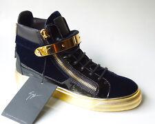 new $1050 Giuseppe ZANOTTI London Veronica blue HighTop sneakers boots 39.5 9.5