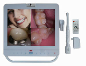 Dental 15 Inch Wired MD1500 Intra Oral Camera System LCD Monitor With LCD Holder
