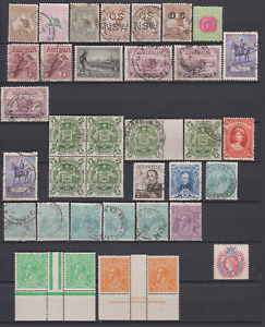 Australia & States 1880's/1930's Collection MNH,Mint Mounted & Used to £1