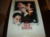 ORIGINAL MOVIE POSTER The Age of Innocence Martin Scorsese