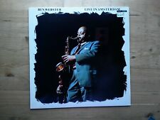 Ben Webster Live In Amsterdam Near Mint Vinyl Record AFF 202