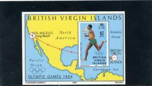 Virgin Islands 1984 Olympics  Scott# 477 Mint NH