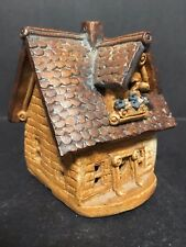 1987 WINDY MEADOWS POTTERY CERAMIC CANDLE HOUSE COTTAGE VALLEY JAN RICHARDSON!!!