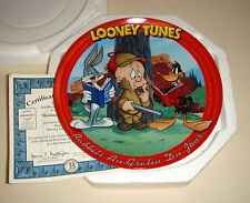 LOONEY TUNES Bugs Bunny's Adventures Elmer Daffy Amazing RABBITS AU GRATIN Plate
