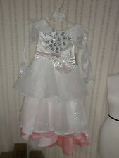DISNEY STORE Glinda Deluxe Costume for Girls OZ & CROWN NEW GIRLS 7/8 M