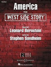 America from West Side Story Sheet Music Piano Vocal New 000450002