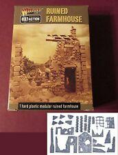 Bolt Action 802010001 Ruined Farmhouse (1) 28mm Miniature Terrain Warlord Games