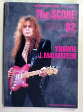 YNGWIE MALMSTEEN THE SCORE 02 JAPAN GUITAR SCORE TAB