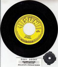 "ROY ORBISON  Ooby Dooby & JOHNNY CASH Ballad Of A Teenage Queen 7"" 45 record NEW"