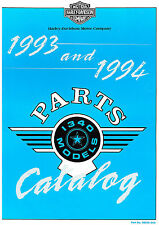 1993-1994 HARLEY-DAVIDSON 1340 MODELS PARTS CATALOG MANUAL -FLT-FXR-SOFTAIL-DYNA
