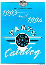 1993-1994 HARLEY-DAVIDSON 1340 MODELS PARTS CATALOG MANUAL -FLT-FXR-DYNA-SOFTAIL