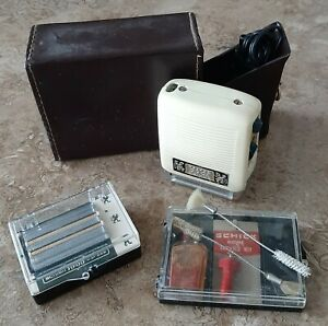 Schick 10.66 3 Speed Electric Razor plus Complete Home Service Kit