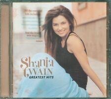 Shania Twain - Greatest Hits no sticker Cd Ottimo