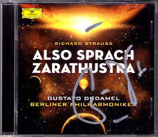 Gustavo DUDAMEL Signiert STRAUSS Also Sprach Zarathustra Don Juan Till Eulen CD