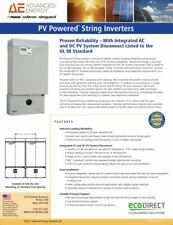 PV Powered PVI 4600W 4.6kW 208v grid-tie inverter FREE SHIPPING