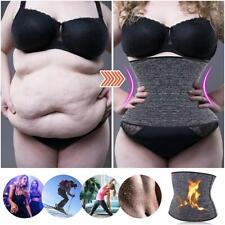 Women Sweat Sauna Waist Trainer Neoprene Weight Loss Sports Belt Body Shaper HOT
