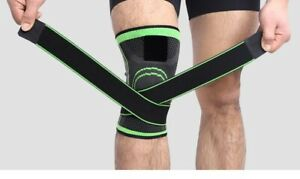 Knee support Brace Breathable Pad Sport Joint Compression Pain Relief Stabilizer