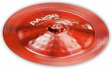 """Paiste Color Sound 900 Red 18"""" China Cymbal/Brand New/Model # Cy0001922618"""