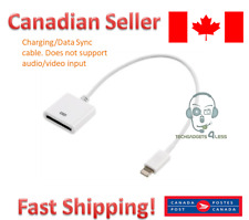 Lightning to 30-pin Adapter 8-pin to 30-pin Charging Cable for Apple iPhone
