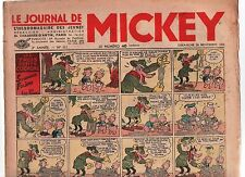 LE JOURNAL DE MICKEY n°111  du 29 NOVEMBRE 1936. Disney.