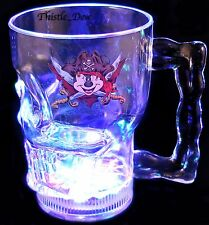 DISNEY Parks PIRATE MICKEY MOUSE Light Up SKULL MUG Cup CARIBBEAN New EXCLUSIVE