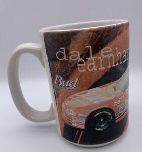 "Dale Earnhardt Jr. # 8 Nascar Red Large Coffee Mug 3-3/4"" Tall Bud Racing Mug"