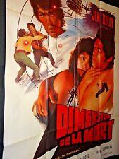 DIMENSION DE LA MORT jim kelly g lazenby  affiche cinema blaxploitation 1978