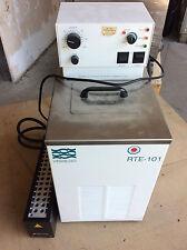 NESLAB Typ RTE-101 Umwälzthermostat Thermostat -12 - 130 Grad mit  TECAN Rack 32