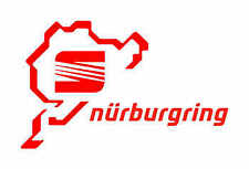 SEAT Nurburgring Sticker cool High Quality JDM VAG Fits all models of Seat