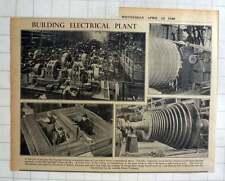 1940 Metropolitan Vickers Andferranti Building Electrical Plant