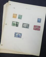 EDW1949SELL :  CANADA Old Time Beginner's collection on Homemade pages.
