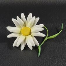 BOEHM Porcelain Small White DAISY FLOWER on Stem F480W